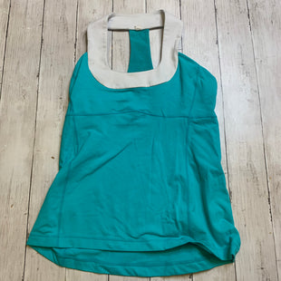Primary Photo - BRAND: LULULEMON STYLE: ATHLETIC TANK TOP COLOR: TEAL SIZE: 8 OTHER INFO: AS IS SKU: 176-17684-47847
