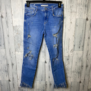 Primary Photo - BRAND: ZARA WOMEN STYLE: JEANS COLOR: DENIM SIZE: 4 SKU: 176-176121-25687