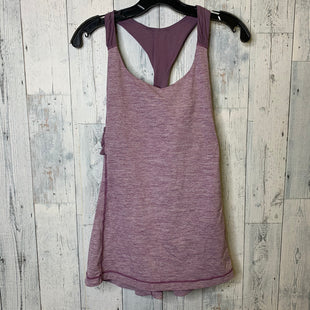 Primary Photo - BRAND: LULULEMON STYLE: ATHLETIC TANK TOP COLOR: PURPLE SIZE: 12 SKU: 176-176124-24140