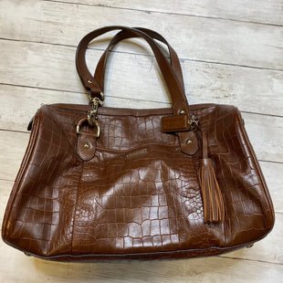 Primary Photo - BRAND: COACH STYLE: HANDBAG DESIGNER COLOR: BROWN SIZE: LARGE SKU: 176-17684-45393