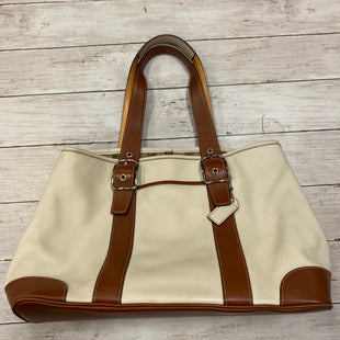 Primary Photo - BRAND: COACH STYLE: HANDBAG DESIGNER COLOR: CREAM SIZE: LARGE OTHER INFO: AS IS SKU: 176-17684-44968