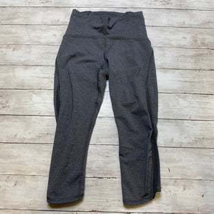 Primary Photo - BRAND: LULULEMON STYLE: ATHLETIC CAPRIS COLOR: GREY SIZE: 4 SKU: 176-17684-45074