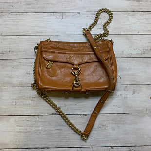 Primary Photo - BRAND: REBECCA MINKOFF STYLE: HANDBAG DESIGNER COLOR: BROWN SIZE: SMALL OTHER INFO: AS IS SKU: 176-176124-25209