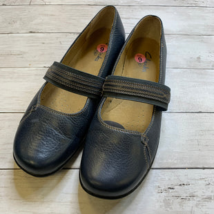 Primary Photo - BRAND: CLARKS STYLE: SHOES FLATS COLOR: NAVY SIZE: 9 SKU: 176-176121-22632