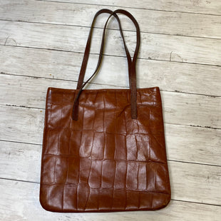 Primary Photo - BRAND:    CLOTHES MENTOR STYLE: HANDBAG LEATHER COLOR: BROWN SIZE: SMALL SKU: 176-176121-24636