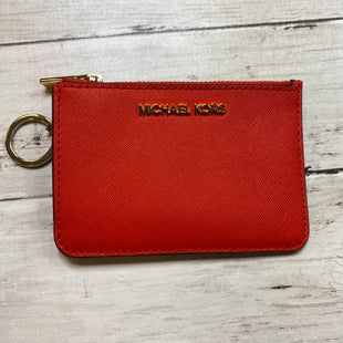 Primary Photo - BRAND: MICHAEL KORS STYLE: WALLET COLOR: RED SIZE: MEDIUM SKU: 176-17684-48079