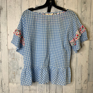 Primary Photo - BRAND: MATILDA JANE STYLE: TOP SHORT SLEEVE COLOR: BABY BLUE SIZE: XS OTHER INFO: NWT SKU: 176-176134-4808