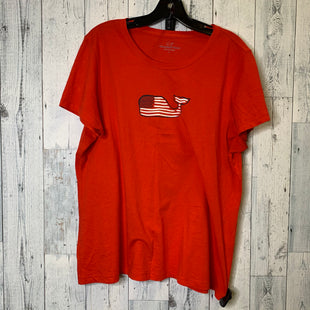Primary Photo - BRAND: VINEYARD VINES STYLE: TOP SHORT SLEEVE BASIC COLOR: RED SIZE: L SKU: 176-17684-45736