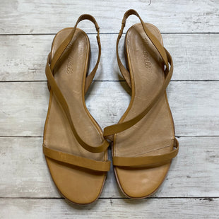 Primary Photo - BRAND: MADEWELL STYLE: SANDALS FLAT COLOR: TAN SIZE: 10 SKU: 176-176150-4695