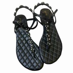Primary Photo - BRAND: MARC FISHER STYLE: SANDALS FLAT COLOR: BLACK SIZE: 7.5 SKU: 176-176140-3264