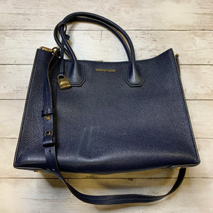 Primary Photo - BRAND: MICHAEL KORS STYLE: HANDBAG DESIGNER COLOR: NAVY SIZE: MEDIUM OTHER INFO: AS IS SKU: 176-176114-36248