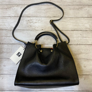 Primary Photo - BRAND:    CLOTHES MENTOR STYLE: HANDBAG LEATHER COLOR: BLACK SIZE: MEDIUM OTHER INFO: QUEEN X - SKU: 176-176124-23116
