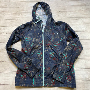 Primary Photo - BRAND: OAKLEY STYLE: ATHLETIC JACKET COLOR: NAVY SIZE: S SKU: 176-176121-24603