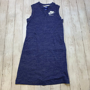 Primary Photo - BRAND: NIKE STYLE: DRESS SHORT SLEEVELESS COLOR: BLUE SIZE: S SKU: 176-176121-21235