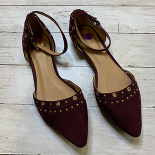 Primary Photo - BRAND: REPORT STYLE: SHOES FLATS COLOR: BURGUNDY SIZE: 8 SKU: 176-176124-21917