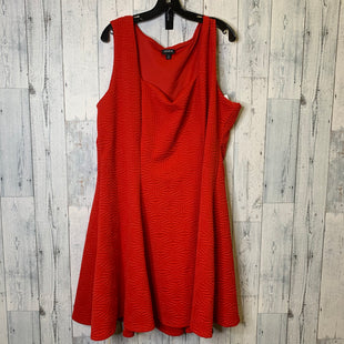 Primary Photo - BRAND: TORRID STYLE: DRESS SHORT SLEEVELESS COLOR: RED SIZE: 3X OTHER INFO: 3 SKU: 176-176134-4780