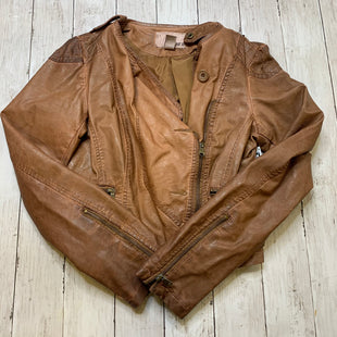 Primary Photo - BRAND: BAR III STYLE: JACKET OUTDOOR COLOR: BROWN SIZE: M SKU: 176-176121-23155