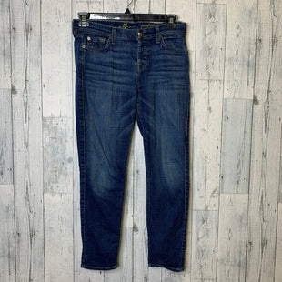 Primary Photo - BRAND: SEVEN FOR ALL MANKIND STYLE: JEANS DESIGNER COLOR: DENIM SIZE: 2 OTHER INFO: 25 SKU: 176-176140-2330