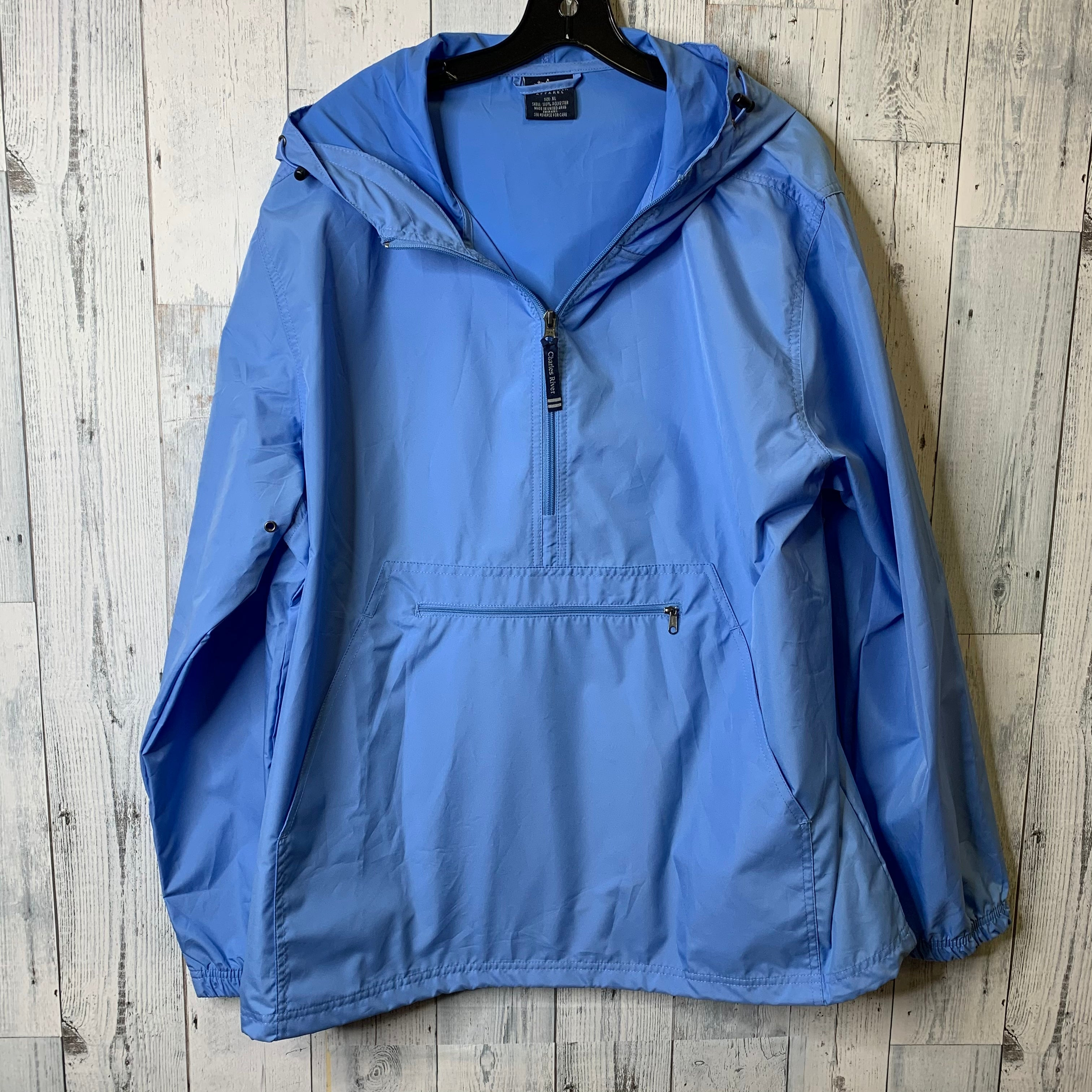 Primary Photo - BRAND:    CLOTHES MENTOR <BR>STYLE: JACKET OUTDOOR <BR>COLOR: BABY BLUE <BR>SIZE: XL <BR>OTHER INFO: CHARLES RIVER - <BR>SKU: 176-176150-3099