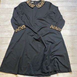 Primary Photo - BRAND: TALBOTS STYLE: DRESS SHORT LONG SLEEVE COLOR: BLACK SIZE: 1X SKU: 176-176121-22917