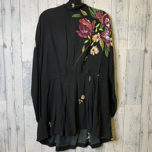 Primary Photo - BRAND: FREE PEOPLE STYLE: DRESS SHORT LONG SLEEVE COLOR: BLACK SIZE: M SKU: 176-176140-2634