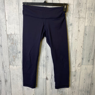 Primary Photo - BRAND: LULULEMON STYLE: ATHLETIC CAPRIS COLOR: NAVY SIZE: S OTHER INFO: AS IS- 4 SKU: 176-176122-21275
