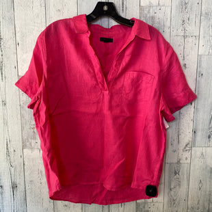 Primary Photo - BRAND: J CREW STYLE: TOP SHORT SLEEVE COLOR: FUSCHIA SIZE: L SKU: 176-176150-3814