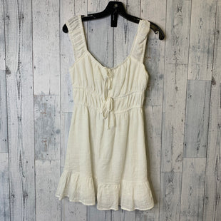 Primary Photo - BRAND: LE LIS STYLE: DRESS SHORT SLEEVELESS COLOR: WHITE SIZE: S SKU: 176-17641-39707