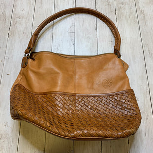 Primary Photo - BRAND:    CLOTHES MENTOR STYLE: HANDBAG LEATHER COLOR: BROWN SIZE: LARGE OTHER INFO: ANOMIMO FIOREMTIMO - AS ISSKU: 176-176124-23865