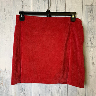 Primary Photo - BRAND: TCEC STYLE: SKIRT COLOR: RED SIZE: L SKU: 176-176121-26057