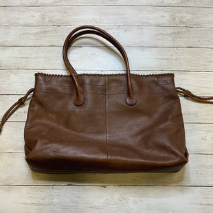 Primary Photo - BRAND: BANANA REPUBLIC STYLE: HANDBAG LEATHER COLOR: BROWN SIZE: LARGE SKU: 176-176140-1101