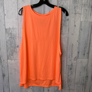 Primary Photo - BRAND: CHAMPION STYLE: ATHLETIC TANK TOP COLOR: ORANGE SIZE: 1X SKU: 176-176114-35966