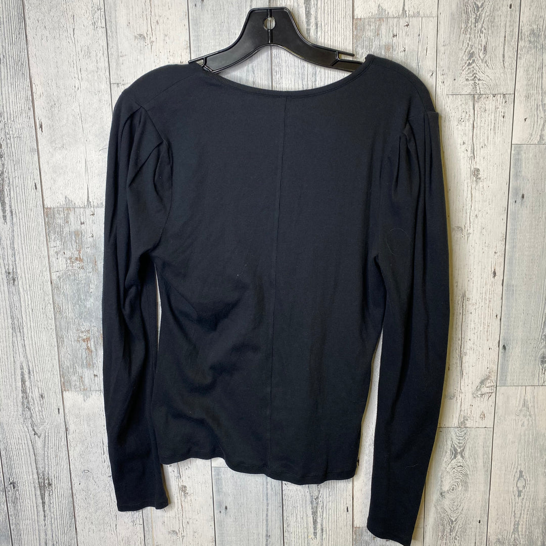 Photo #1 - BRAND: FREE PEOPLE <BR>STYLE: TOP LONG SLEEVE <BR>COLOR: BLACK <BR>SIZE: XL <BR>SKU: 176-176124-25030