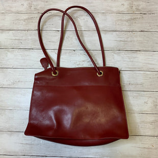 Primary Photo - BRAND: FRANKLIN COVEY STYLE: HANDBAG LEATHER COLOR: RED SIZE: LARGE SKU: 176-176124-23438