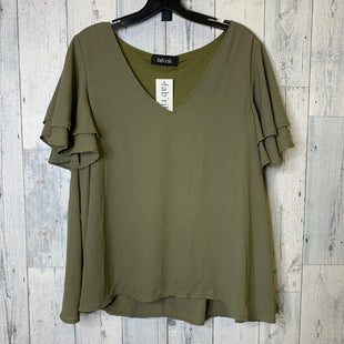 Primary Photo - BRAND: FABRIK STYLE: TOP SHORT SLEEVE COLOR: GREEN SIZE: L SKU: 176-176150-3619