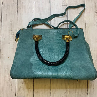Primary Photo - BRAND:    CLOTHES MENTOR STYLE: HANDBAG LEATHER COLOR: GREEN SIZE: MEDIUM SKU: 176-176124-22657