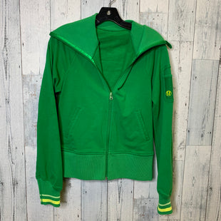 Primary Photo - BRAND: LULULEMON STYLE: ATHLETIC JACKET COLOR: GREEN SIZE: 4 OTHER INFO: AS IS SKU: 176-176150-4022