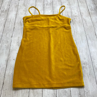 Primary Photo - BRAND: WILD FABLE STYLE: DRESS SHORT SLEEVELESS COLOR: YELLOW SIZE: L SKU: 176-176153-151