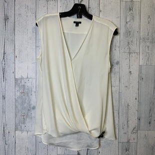 Primary Photo - BRAND: ANN TAYLOR STYLE: TOP SLEEVELESS COLOR: CREAM SIZE: M SKU: 176-176140-2828