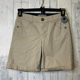 Primary Photo - BRAND:    CLOTHES MENTOR STYLE: SHORTS COLOR: TAN SIZE: 4 OTHER INFO: WIT & WISDOM - SKU: 176-176140-2623