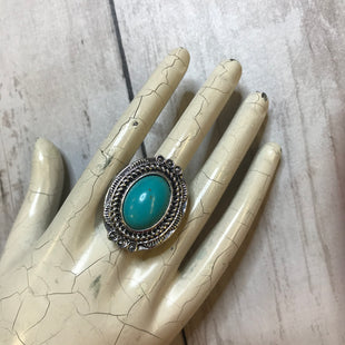 Primary Photo - BRAND:    CLOTHES MENTOR STYLE: RING COLOR: TURQUOISE SIZE: 6 SKU: 176-176114-31140