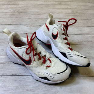 Primary Photo - BRAND: NIKE STYLE: SHOES ATHLETIC COLOR: WHITE SIZE: 11 SKU: 176-176124-25346
