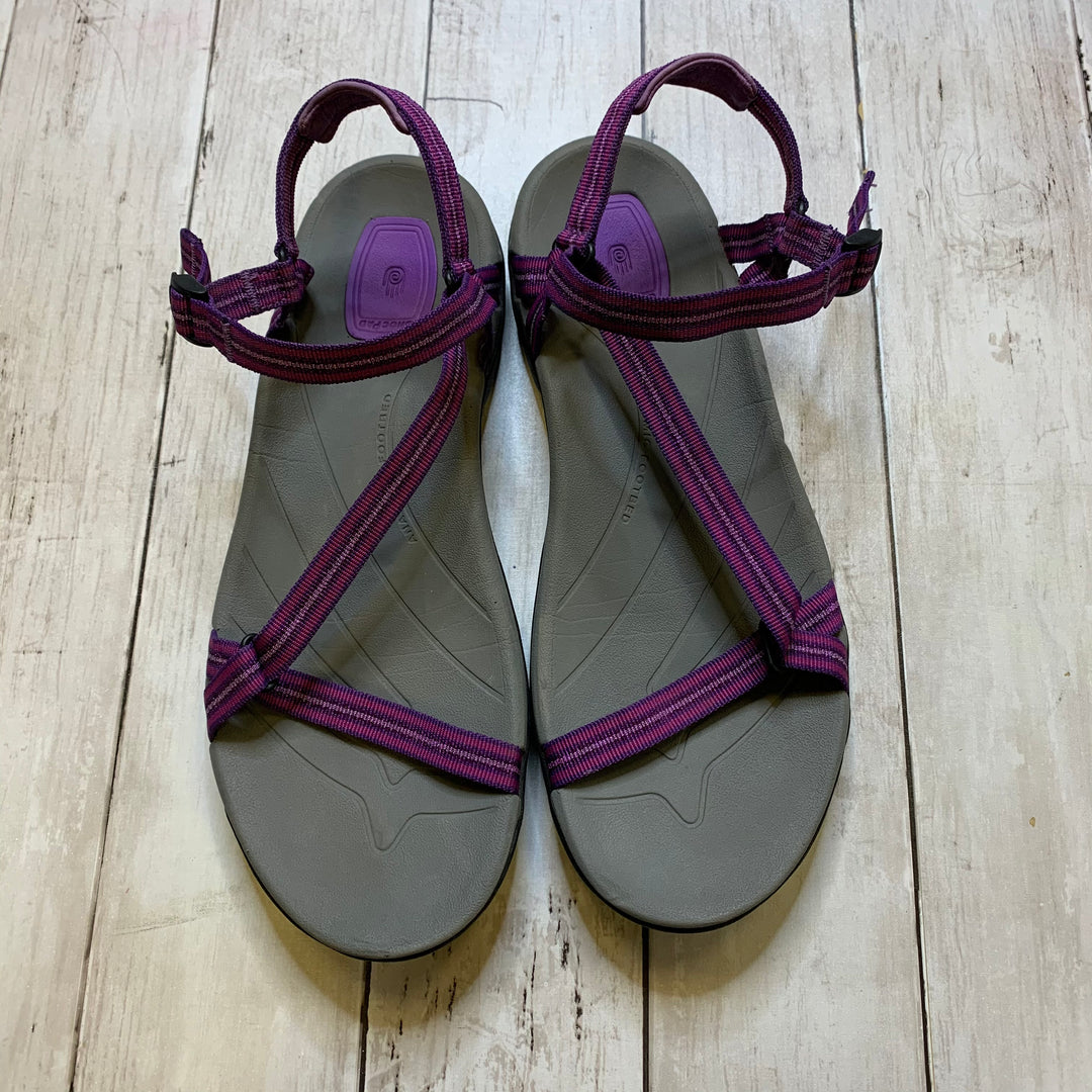 Primary Photo - BRAND: TEVA <BR>STYLE: SANDALS FLAT <BR>COLOR: PURPLE <BR>SIZE: 10 <BR>SKU: 176-176121-22407