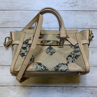 Primary Photo - BRAND: COACH STYLE: HANDBAG DESIGNER COLOR: TAN SIZE: MEDIUM OTHER INFO: AS IS SKU: 176-176122-20436
