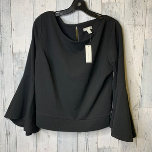 Primary Photo - BRAND: NEW YORK AND CO STYLE: TOP LONG SLEEVE COLOR: BLACK SIZE: L SKU: 176-176121-23229