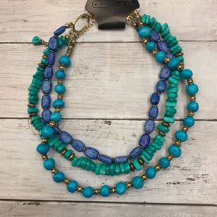 Primary Photo - BRAND: CHICOS STYLE: NECKLACE COLOR: TURQUOISE SKU: 176-176122-19464