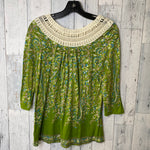 Photo #1 - BRAND: MEADOW RUE <BR>STYLE: TOP LONG SLEEVE <BR>COLOR: GREEN <BR>SIZE: M <BR>SKU: 176-176122-18356
