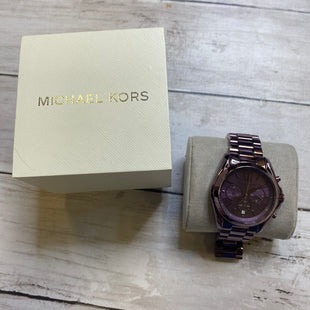 Primary Photo - BRAND: MICHAEL KORS STYLE: WATCH COLOR: PURPLE SKU: 176-17684-48084