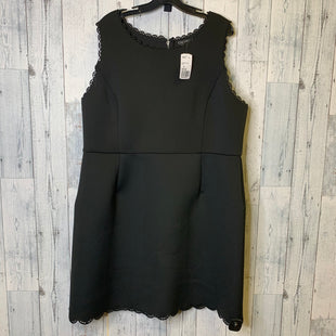 Primary Photo - BRAND: FOREVER 21 STYLE: DRESS SHORT SLEEVELESS COLOR: BLACK SIZE: 3X SKU: 176-176146-558