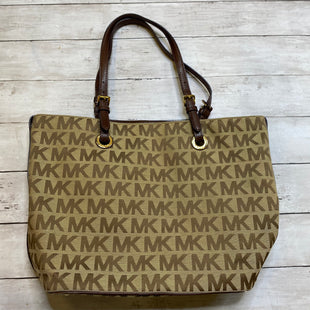 Primary Photo - BRAND: MICHAEL KORS STYLE: HANDBAG DESIGNER COLOR: CREAM SIZE: MEDIUM OTHER INFO: AS IS SKU: 176-176114-37362